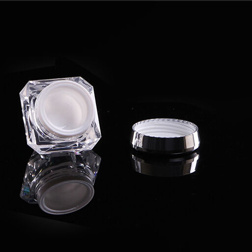 amber color PET jar 120ml cream jar 3 g luxury 3ml cosmetic jar