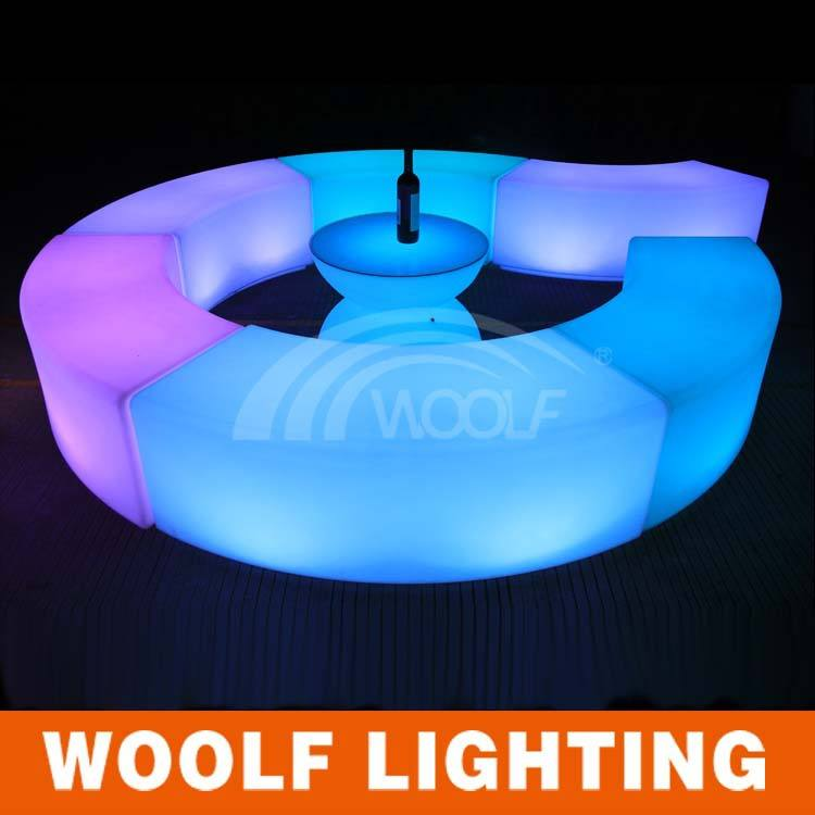 new led bar floor lounge chairs plastic