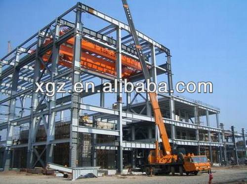 Modern Design Steel Office Building/Prefabricated Steel Building