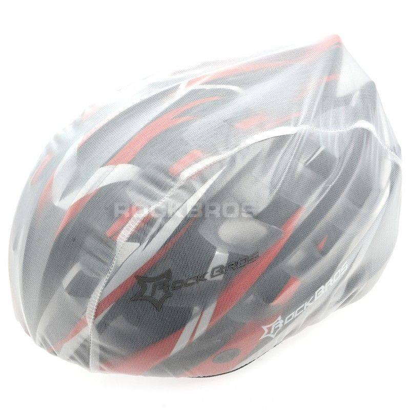 Rockbros MTB Road BikeRain Cover for helmet Cycling lightweight Covers Polyester waterproof bicycle helmet cover