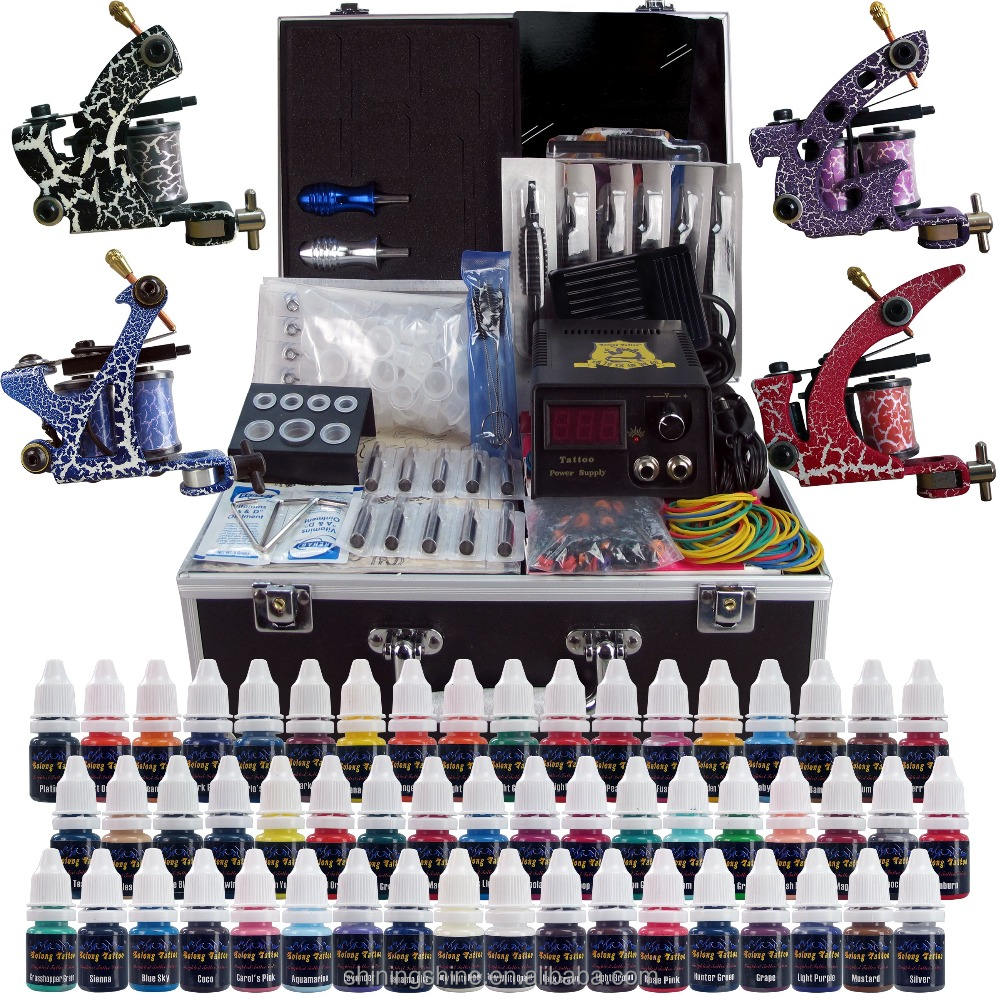 Hot verkoop tattoo machine kit professionele tattoo gun set