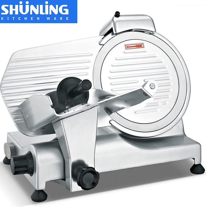 Shunling mini domestic semi-automatic 250es-10 meat slicer