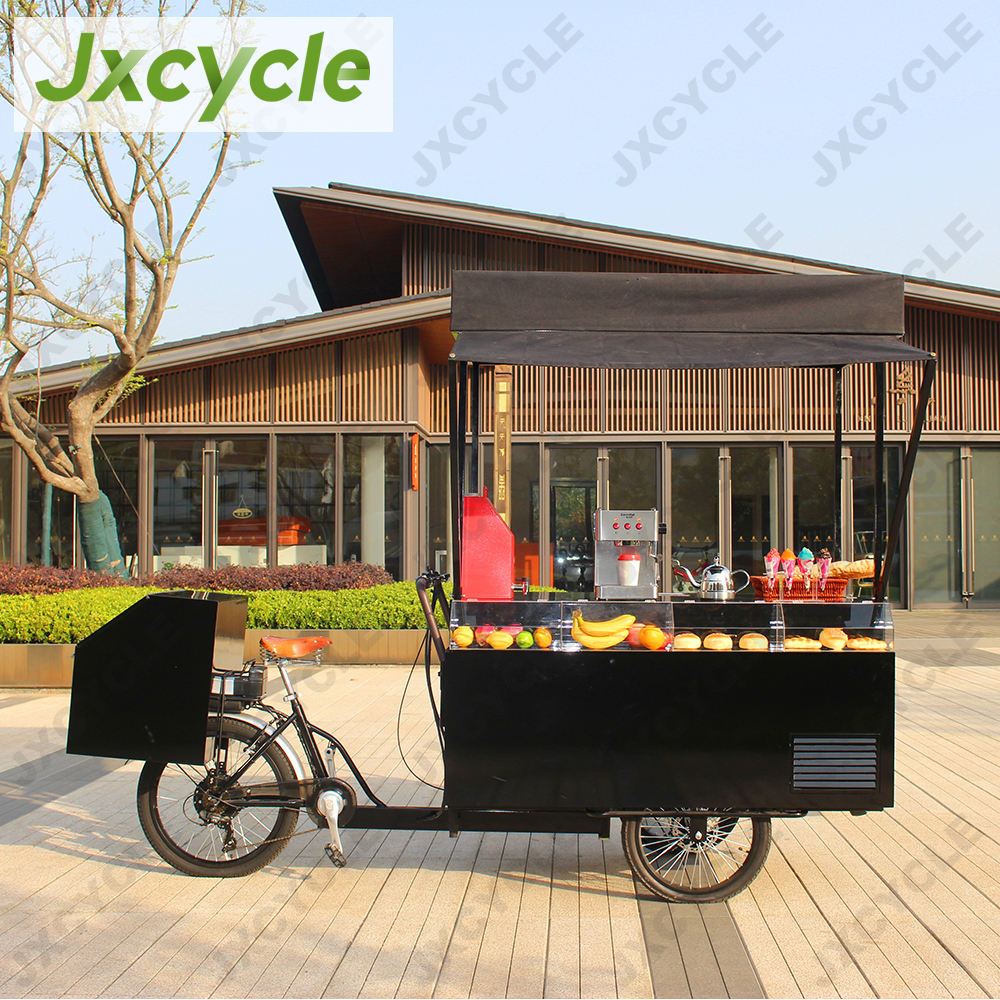3 wheel electric hot dog bicycle food cart for sale