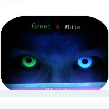 best quality most wanted freshtone UV Glow lens 45% water content yearly solid color contact lens