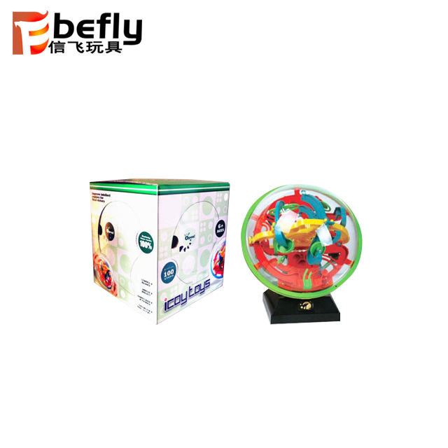 3D Space Traveller Intellect Ball Balance Maze Game Puzzle Toy