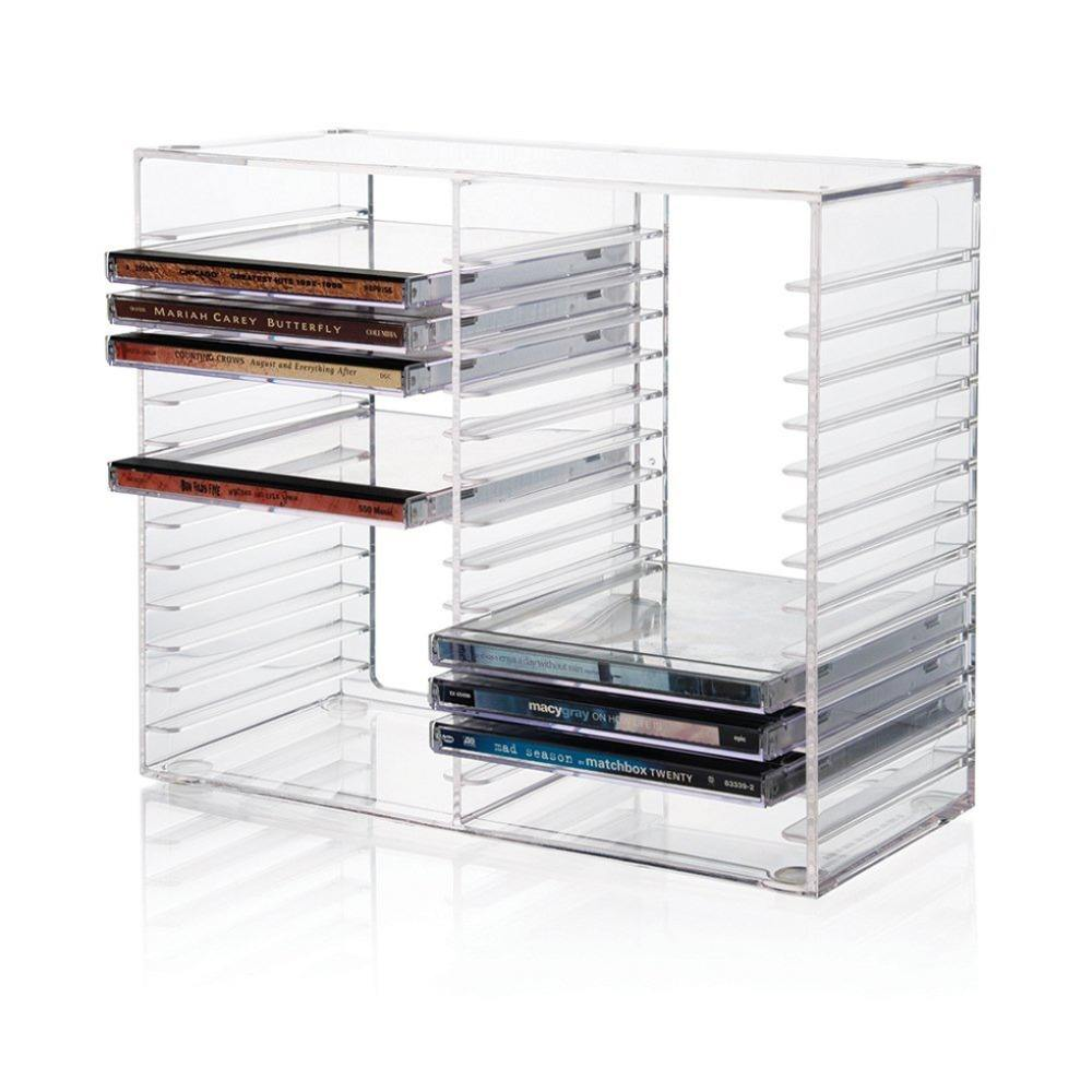 Acryl Cd Dvd Display Rack/Plank/Stand/Houder Plexiglas Cd Dvd Case Box