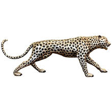 Wild Patinated Garden Bronze Cheetah