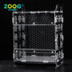 Hot Sale rectangle clear pet container modern pretty birdcage
