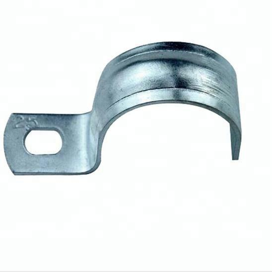 Singapore market metal steel half pipe saddle clamp clips home depot pipe clips