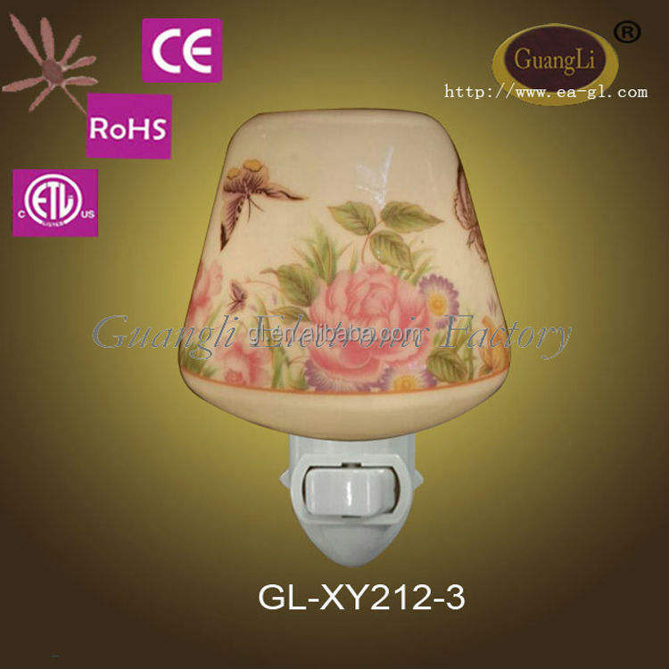 good sale high efficiency ceramic plug in night lights