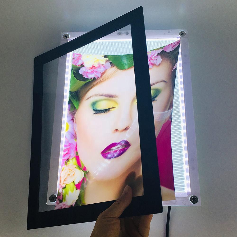 рамка для постеров световая получить