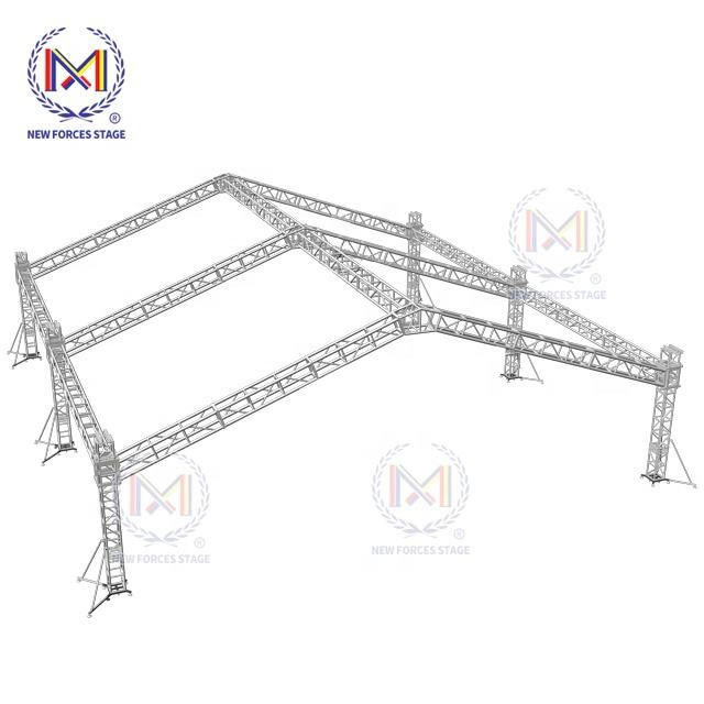 Steel Roof Trusses Prices High Quality Aluminum Truss Stage Frame