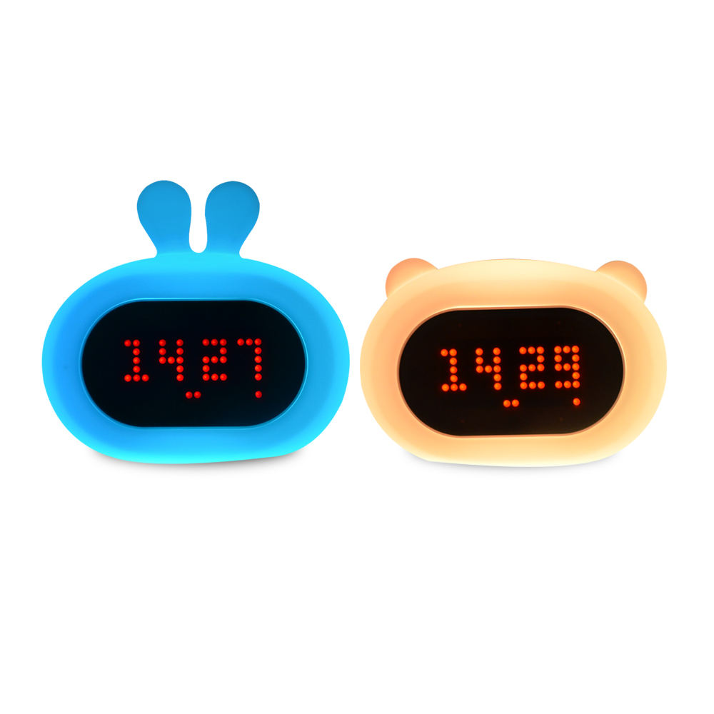Multifunction Digital Electronic Led Night Light Clock