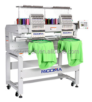 RiCOMA Portable 2 Head Computerized Embroidery Machine