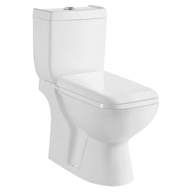 New Bathroom Washdown Two Pieces UPC Ceramic Toilet Set