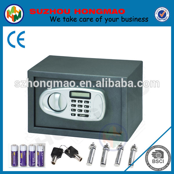 pequeña electrónica digital de caja fuerte de seguridad