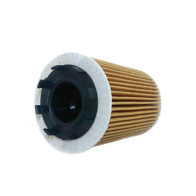 Auto engine lubrication system oil filter