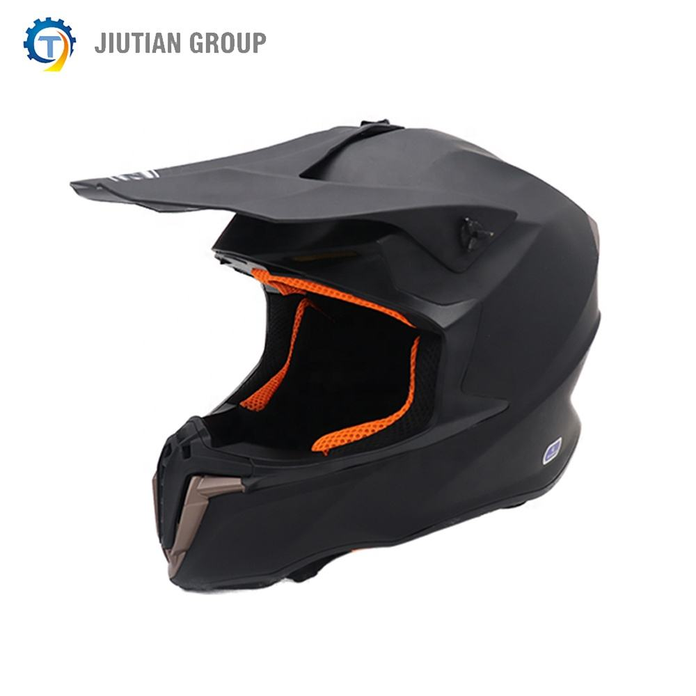Matte Black Motorcycle Helmets Off Road Helmet