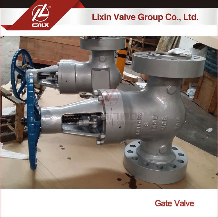 Flange connection type 2 inch power station gate valve wholesale