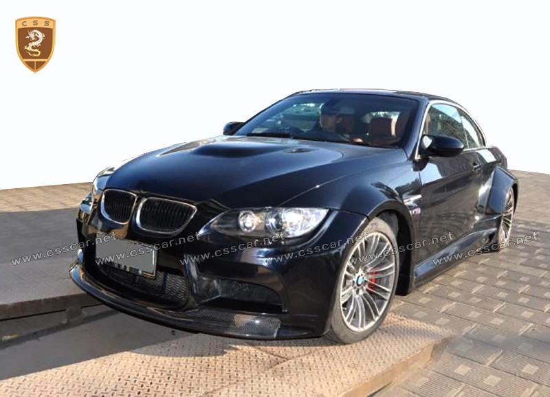 Para BMW <span class=keywords><strong>E92</strong></span>-<span class=keywords><strong>M3</strong></span> a Vorster estilo kits del cuerpo completo parachoques auto parts