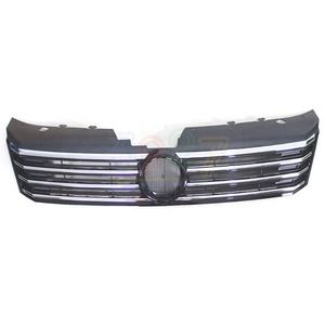 Auto Car Black Chromed Front Grille for VW Passat B7 2011 - 2015