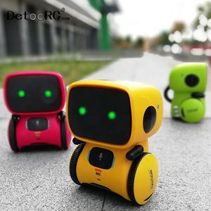 Detoo 2019 Robots for Kids Dance Voice Control Toys Interactive Toy Gesture Robotic Smart Robot toys