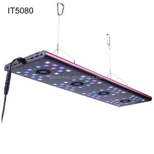 2017 AquaOcean IT5080 aquarium led éclairage evergrow led lumière d'aquarium pour sps lps coraux
