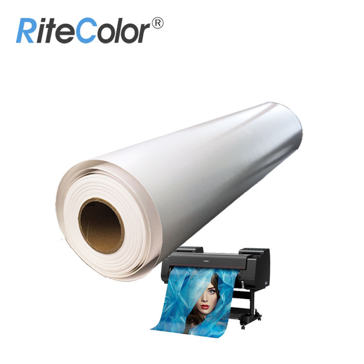 Waterproof Large Format Roll Self Adhesive 210gsm Premium RC Sticker Glossy Photo Paper