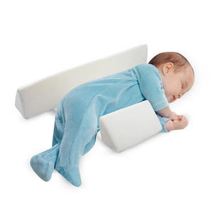 Baby Pillow Adjustable Memory Foam Support Newborn Infant Sleep Positioner Prevent Flat Head Shape Anti Roll Pillow