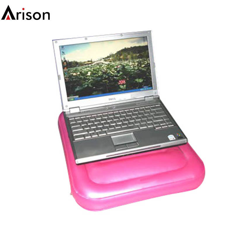 PVC Inflatable Komputer Laptop Meja Tray Booster