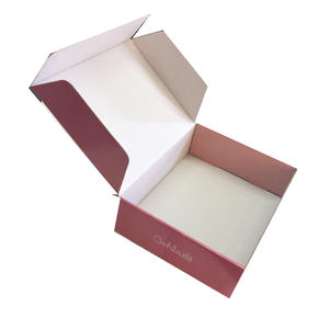 Custom paper gift packaging designs printing folding paper box
