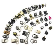 High Quality Custom Size Iron D Ring Rivet Eyelets Boot Metal Shoe Lace Hooks For Hiking Boot