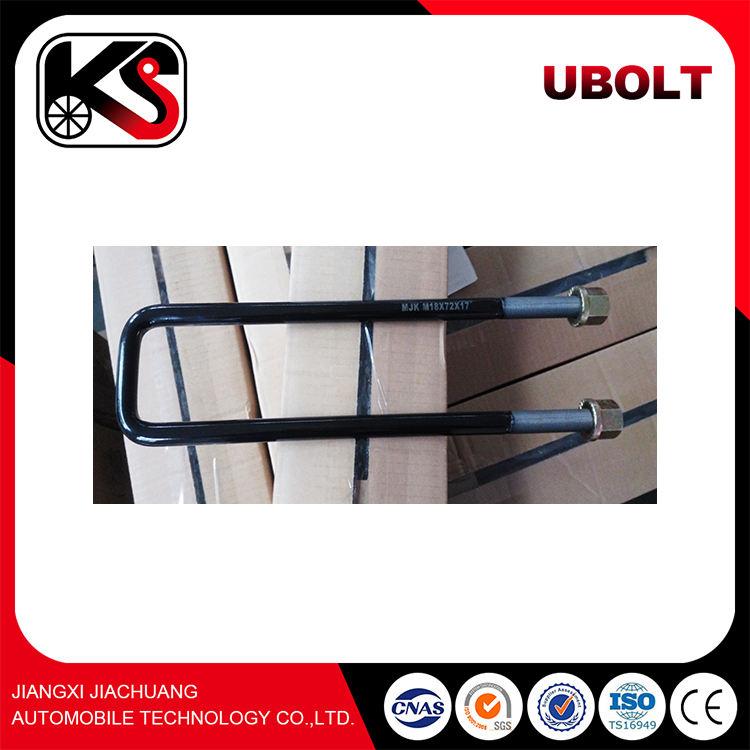 Remorque suspension fixation U boulon mécanique matériel