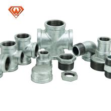 Plumbing Materials Plomberie Casting Malleable Iron Steel Pipe Fittings Gi Product