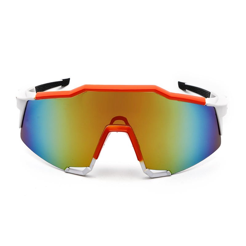 2019 Men outdoor sports sunglasses bicycle windbreak sunglasses