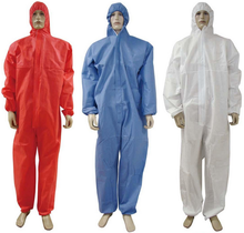 BACTERIA & VIRUS INFECTION CONTROL PPE, DISPOSABLE PROTECTIVE COVERALL