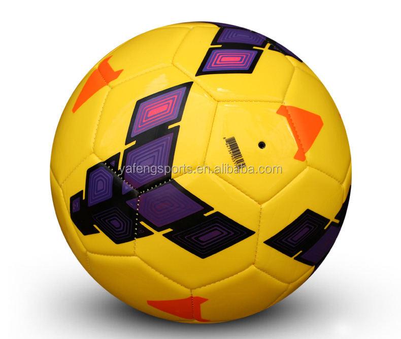 Gros professionnel personnalisé soccer ball piqué football taille 5 balle de match ballon de football taille 5