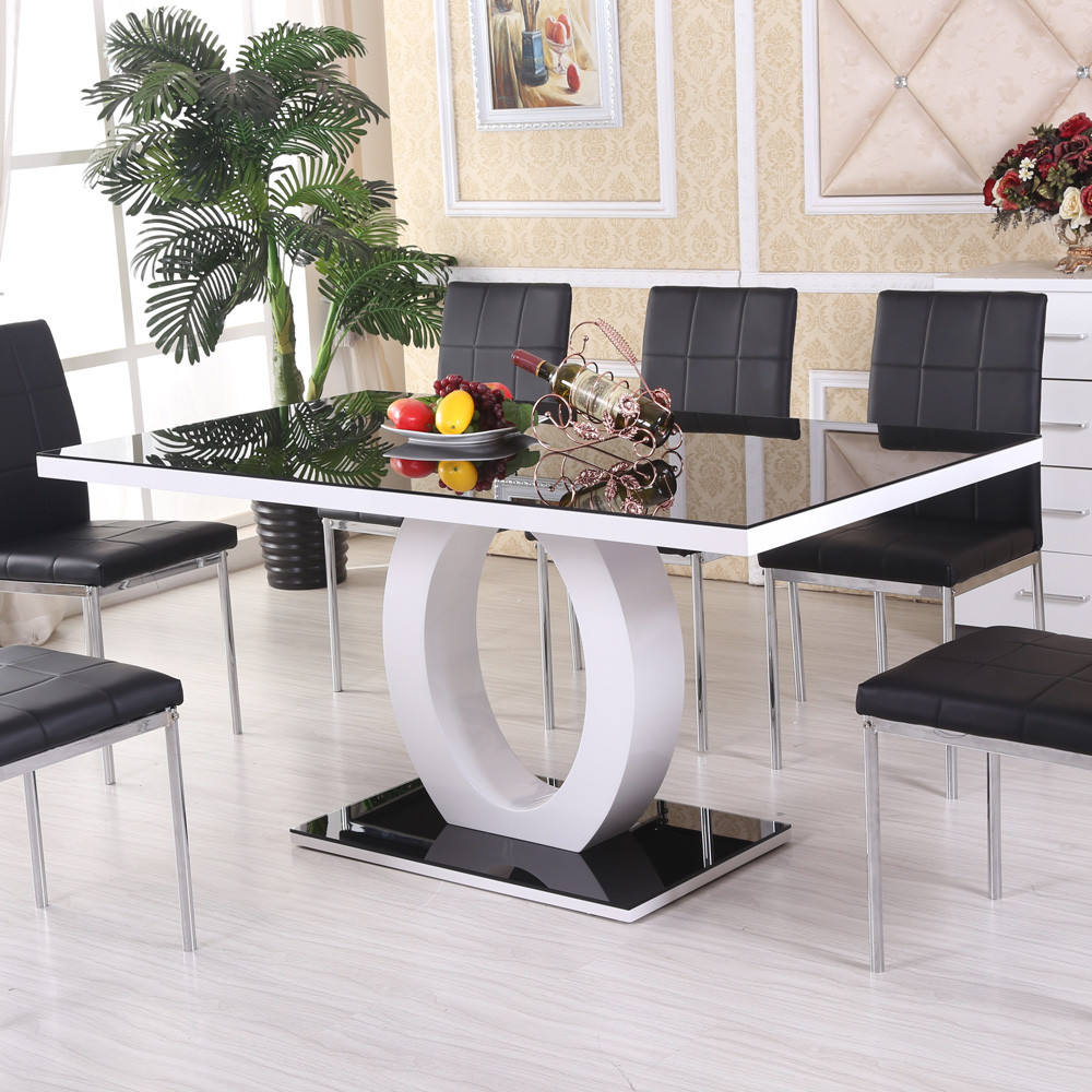 Modern kitchen cheap wholesale furniture dining table