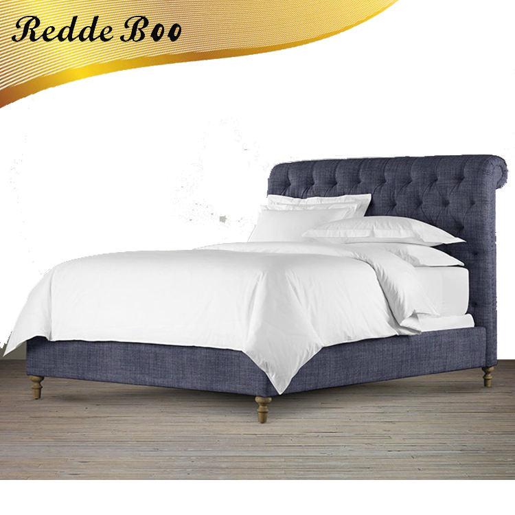 Antique pays style mobilier de <span class=keywords><strong>chambre</strong></span> lit cadre de lit d'hôtel