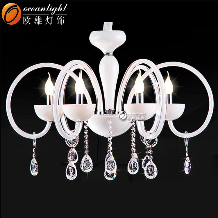 Chandelier glass cover wholesale pendant lighting crystal ceiling light OMC023-4W