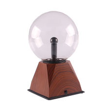 colorful magic nebula ball touch electrostatic sphere sound activated plasma light lamp