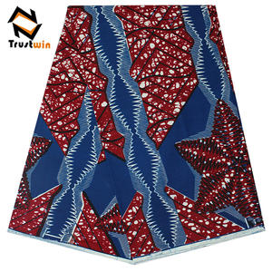 newest wholesale african holland wax real dutch fabric for garment