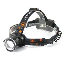 Boruit High Power Zoomable Headlamp Rechargeable Headlight