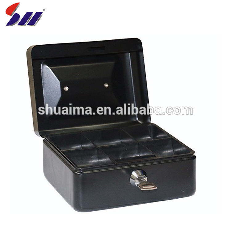 Cold Rolling Steel Metal Money Small Cash Money Safty Box