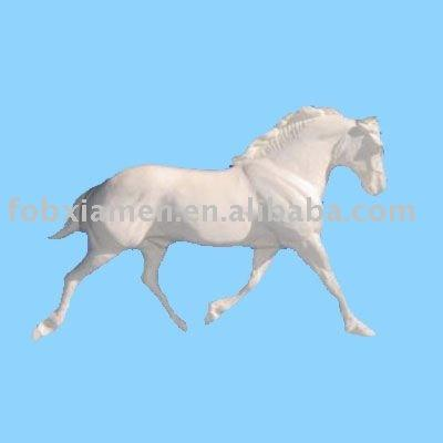 unpainted horse craft