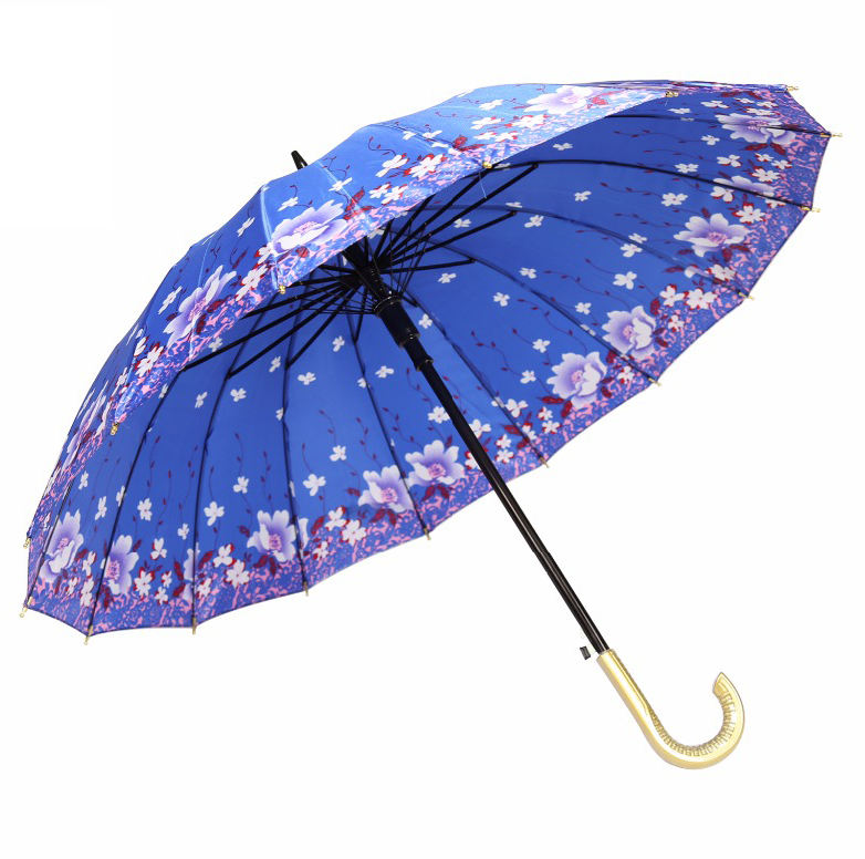 cheap bangladesh satin straight umbrella with printing