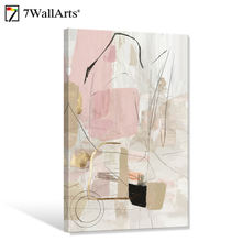 Seven Wall Arts Wholesale High Quality Canvas Prints Abstract  Canvas Print for Wall Decor