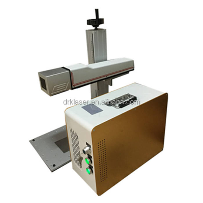 Mini CAS /Max /Raycus/ IPG 20W 50w 80w cnc Mobile Watch Phones Fiber Laser Marking Machine for metal non metal