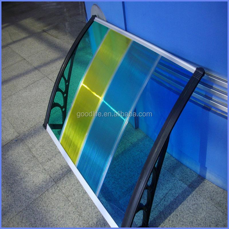 البولي قبة المظلة للأبواب والنوافذ