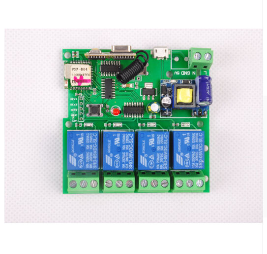 WIFI Switch dc5V/ dc7-32v /ac 220vRelay 433Mhz rf receive Self-locking remote control smarhome Automation Module